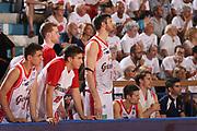 DESCRIZIONE : Reggio Emilia Lega A 2014-15 Grissin Bon Reggio Emilia Banco di Sardegna Sassari finale play off gara 5<br /> GIOCATORE : team Grissin Bon Reggio Emilia<br /> CATEGORIA : ritratto<br /> SQUADRA : Grissin Bon Reggio Emilia<br /> EVENTO : Campionato Lega A 2014-2015<br /> GARA : Grissin Bon Reggio Emilia Banco di Sardegna Sassari<br /> DATA : 22/06/2015<br /> SPORT : Pallacanestro <br /> AUTORE : Agenzia Ciamillo-Castoria/E.Rossi<br /> Galleria : Lega Basket A 2014-2015 <br /> Fotonotizia : Reggio Emilia Lega A 2014-15 Grissin Bon Reggio Emilia Banco di Sardegna Sassari finale play off gara 5