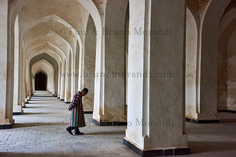 Ouzbekistan, Boukhara, patrimoine mondial de l Unesco, la mosquee Kalon // Uzbekistan, Bukhara, Unesco world heritage, Kalon mosque