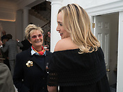 GLORIA PRINCEESS OF THURN UND TAXIS; PRINCESS ELIZABETH THURN  UND TAXIS, Opening of Galerie Thaddaeus Ropac London, Ely House, 37 Dover Street.. Mayfair. London. 26 April 2017.