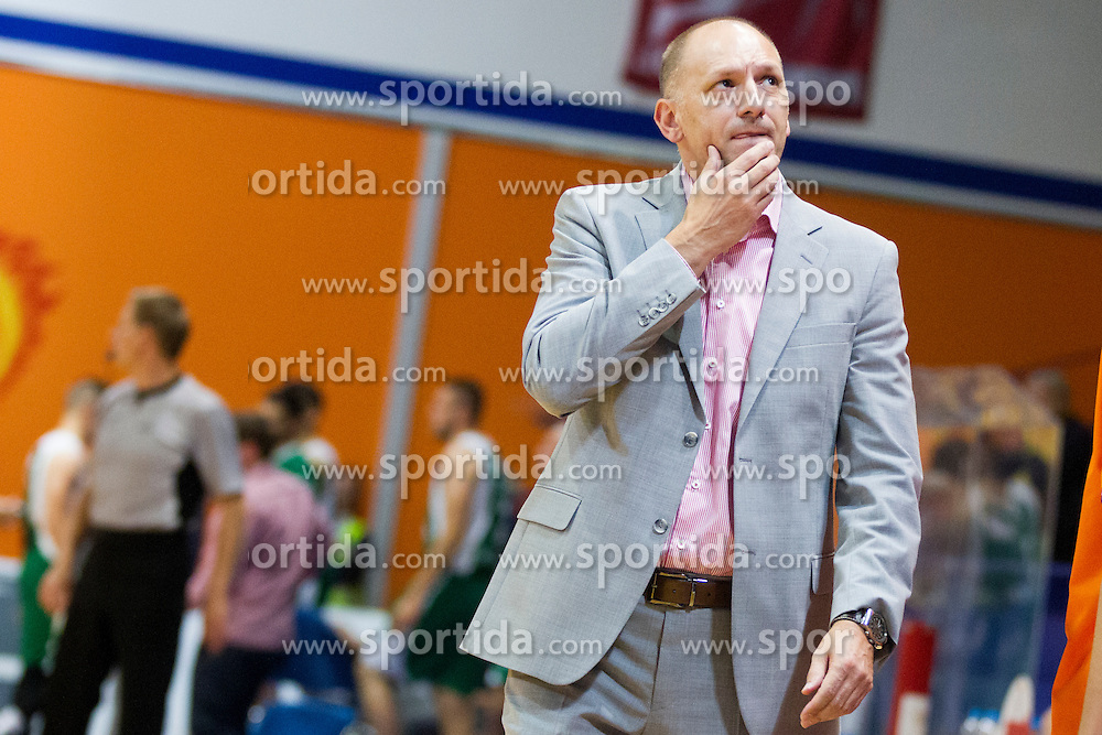 Jaksa Vulic, head coach of KK Helios Suns during basketball match between KK Helios Suns and KK Krka in semi-final of Nova KBM Champions League 2015/16, on May 23, 2016 in Hala Kominalnega Centra, Domzale, Slovenia. Photo by Urban Urbanc / Sportida