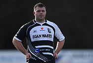 Pontypridds' Huw Dowden<br /> <br /> Photographer Mike Jones/Replay Images<br /> <br /> Principality Premiership Merthyr v Pontypridd - Saturday 17th February 2018 - The Wern Merthyr Tydfil<br /> <br /> World Copyright &copy; Replay Images . All rights reserved. info@replayimages.co.uk - http://replayimages.co.uk
