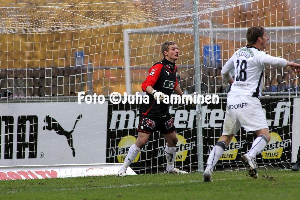 07.05.2010, Kupittaa, Turku..Veikkausliiga 2010, FC TPS Turku - Vaasan Palloseura..Jukka Lehtovaara - TPS.©Juha Tamminen.