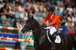 Vrieling Jur, NED, VDL Glasgow v Merelsnest<br /> FEI Nations Cup - CHIO Rotterdam 2017<br /> © Hippo Foto - Dirk Caremans<br /> Vrieling Jur, NED, VDL Glasgow v Merelsnest