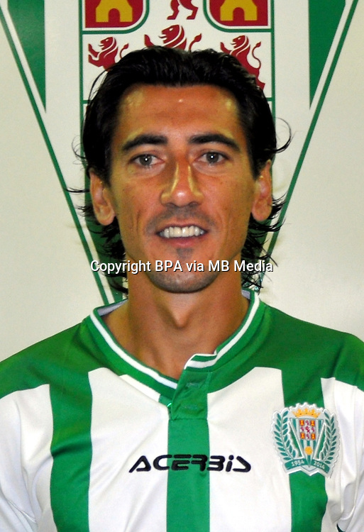 Spain - La Liga Adelante 2015-2016 / <br /> ( Cordoba Club de Futbol ) - <br /> Pedro Rios Maestre