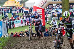 Katherine Compton (USA), Women, Cyclo-cross World Cup Hoogerheide, The Netherlands, 25 January 2015, Photo by Thomas van Bracht / PelotonPhotos.com