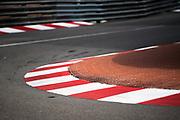May 23-27, 2018: Monaco Grand Prix. Monaco curb detail