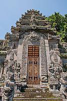 The God's portal at Pura Kehen Temple near Bangli in Eastern Bali Indonesia