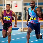 NLD/Apeldoorn/20180217 - NK Indoor Athletiek 2018, 60 meter heren, Remly Vry, Churandy Martina
