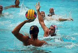 July 24, 2018 - Barcelona, Spain - match between Croacia and Montenegro, corresponding to the women group stage of the European Water Polo Championship, on 19th July, 2018, in Barcelona, Spain. (Credit Image: © Joan Valls/NurPhoto via ZUMA Press)