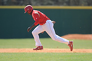 Lafayette High's D.K. Buford (3) steals second vs. Horn Lake in Oxford, Miss. on Tuesday, March 12, 2013.