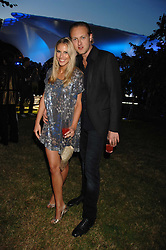 PETRINA KHASHOGGI and LORD EDWARD SPENCER-CHURCHILL at the annual Serpentine Gallery Summer Party in association with Swarovski held at the gallery, Kensington Gardens, London on 11th July 2007.<br />