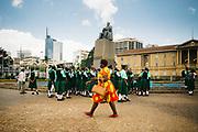 Kenia 2017: Scolaresca in visita al Kenyatta International Convention Centre