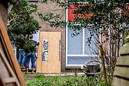 Woningcorporatie Ymere sluit panden in de Rudolf Dieselstraat.