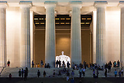 Lincoln Memorial is an American national monument, built to honor the 16th President of the United States, Abraham Lincoln. It is located on the western end of the National Mall in Washington, D.C., across from the Washington Monument.