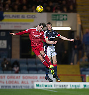 Aberdeen&rsquo;s Kenny McLean and Dundee&rsquo;s Cammy Kerr - Dundee v Aberdeen in the Ladbrokes Scottish Premiership at Dens Park, Dundee. Photo: David Young<br /> <br />  - &copy; David Young - www.davidyoungphoto.co.uk - email: davidyoungphoto@gmail.com