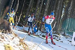 Matvey Eliseev (RUS) during the Men 20 km Individual Competition at day 1 of IBU Biathlon World Cup 2019/20 Pokljuka, on January 23, 2020 in Rudno polje, Pokljuka, Pokljuka, Slovenia. Photo by Peter Podobnik / Sportida