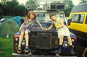 Landy Girls, Glastonbury, 1994.