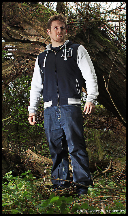 fashion shoot in the woods with Steve