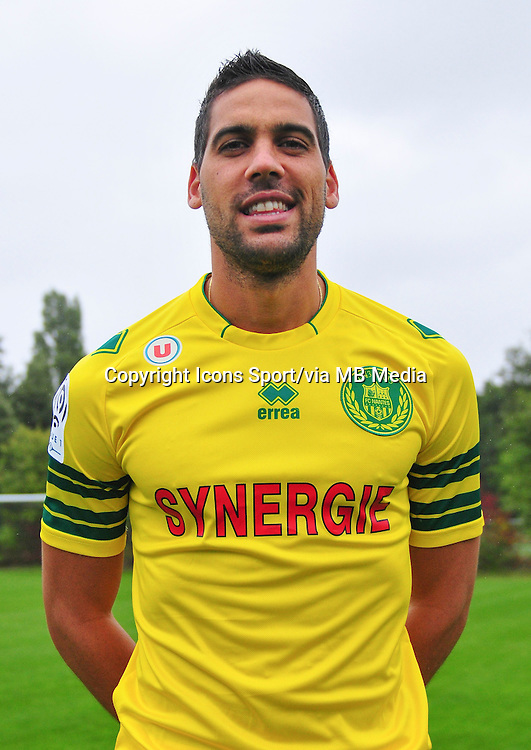 Gabriel CICHERO KOMAREK - 17.09.2013 - Photo Officielle - Nantes -Ligue 1<br /> Photo : Philippe Le Brech / Icon Sport