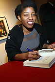 Shariffa Rhodes-Pitts signs her new book ' Harlem is Nowhere ' held at Studio Museum in Harlem