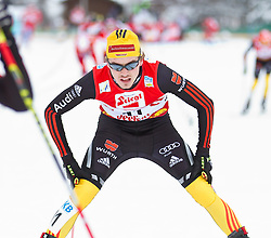 19.12.2011, Casino Arena, Seefeld, AUT, FIS Nordische Kombination, Langauf 10 km, im Bild Fabian Riessle (GER) // Fabian Riessle of Germany during the cross-country skiing 10 km at FIS Nordic Combined World Cup in Sefeld, Austria on 20111211. EXPA Pictures © 2011, PhotoCredit: EXPA/ P.Rinderer