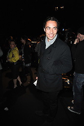 JAMES MIDDLETON at the ISSA show as part of London Fashion Week 2010 held at Somerset House, The Strand, London on 23rd February 2010.