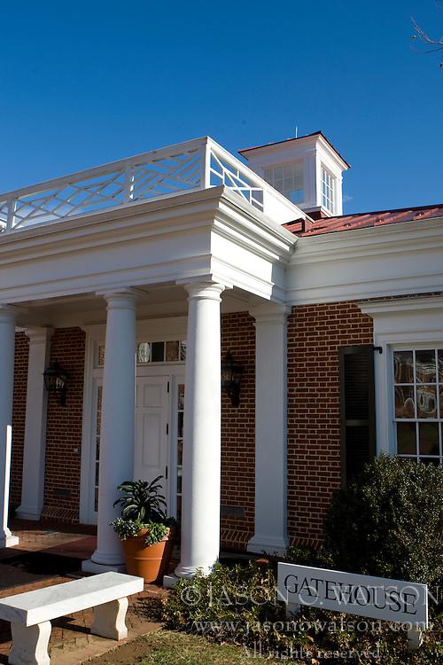 The Gate House, Darden Graduate School of Business, University of Virginia, Charlottesville, VA, January 6, 2008.