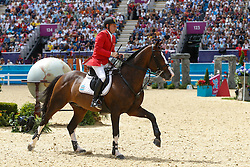 Ehning Marcus (GER) - Plot Blue<br /> Olympic Games London 2012<br /> © Dirk Caremans