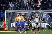 Notts County forward Craig Mackail-Smith (28) celebrates his goal during the EFL Sky Bet League 2 match between Notts County and Mansfield Town at Meadow Lane, Nottingham, England on 16 February 2019.