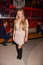 Becky Hill at Sambazonia presented by Sushisamba and Cool Earth at SushiSamba, 110 Bishopsgate, City of London England. 28 February 2017.