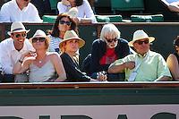 Julie GAYET / Pierre RICHARD - 04.06.2015 - Jour 12 - Roland Garros 2015<br />Photo : Nolween Le Gouic / Icon Sport