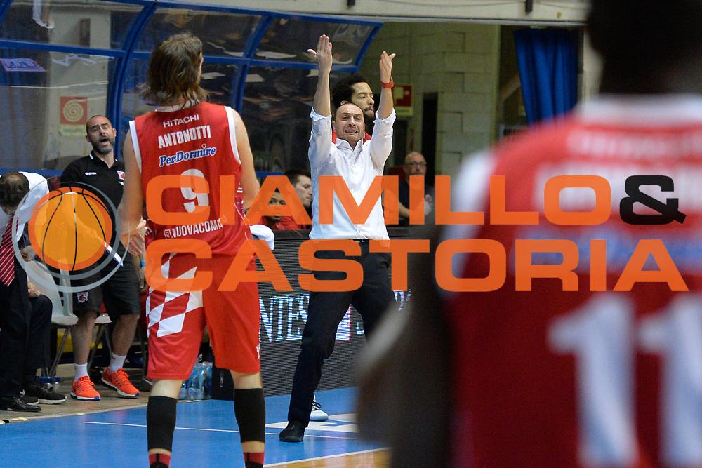Vincenzo Esposito<br /> Red October Cantu' vs The Flexx Pistoia<br /> Lega A  2016/2017<br /> Desio 15/04/2017<br /> Foto Ciamillo-Castoria<br /> Provvisorio