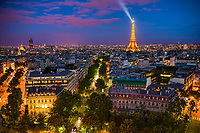 Paris Blue Hour