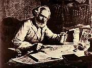 Karl Marx at work. Karl Marx (1818-1883) Father of modern Communism. German political, social and economic theorist
