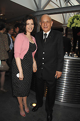 NAIM ATTALLAH and NIGELLA LAWSON at a party to celebrate the publication of Nain Attallah's book'Fulfilment & Betrayal' held at The Bluebird, King's Road, London on 1st May 2007.<br />