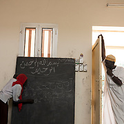 Since the beginning of the conflict in 2011, most of the teachers from South Kordofan fled to Yida refugee camp in South Sudan in hope to find a job. <br /> In the rebel controlled area, in the main village, Kauda, the Koranic school welcome kids from any age for two hours every day. <br /> Although for those living outside of the village, access to education is mostly inexistent.
