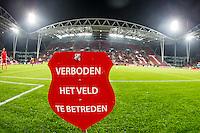 UTRECHT - Utrecht - Roda JC , Voetbal , Eredivisie, Seizoen 2015/2016 , Stadion Galgenwaard , 17-10-2015 ,  Het is verboden het veld te betreden