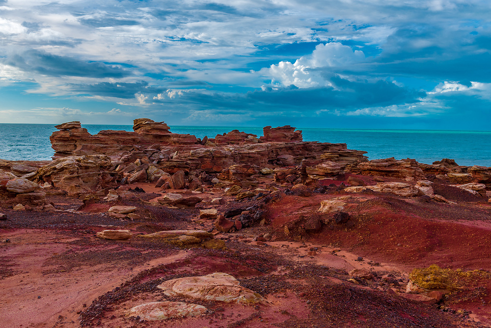 Red Rock Formations at Gantheaume Point