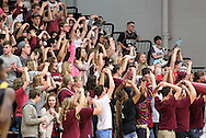 November 7, 2015: The Central Christian College Tigers play against the Oklahoma Christian University Eagles in the Eagles Nest on the campus of Oklahoma Christian University.