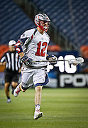 DENVER, CO - JULY 4: Martin Bowes #12 of the Boston Cannons during their MLL game against the Denver Outlaws at Sports Authority Field at Mile High on July 4, 2015 in Denver, Colorado. (Photo by Marc Piscotty/Getty Images) *** Local Caption *** Martin Bowes