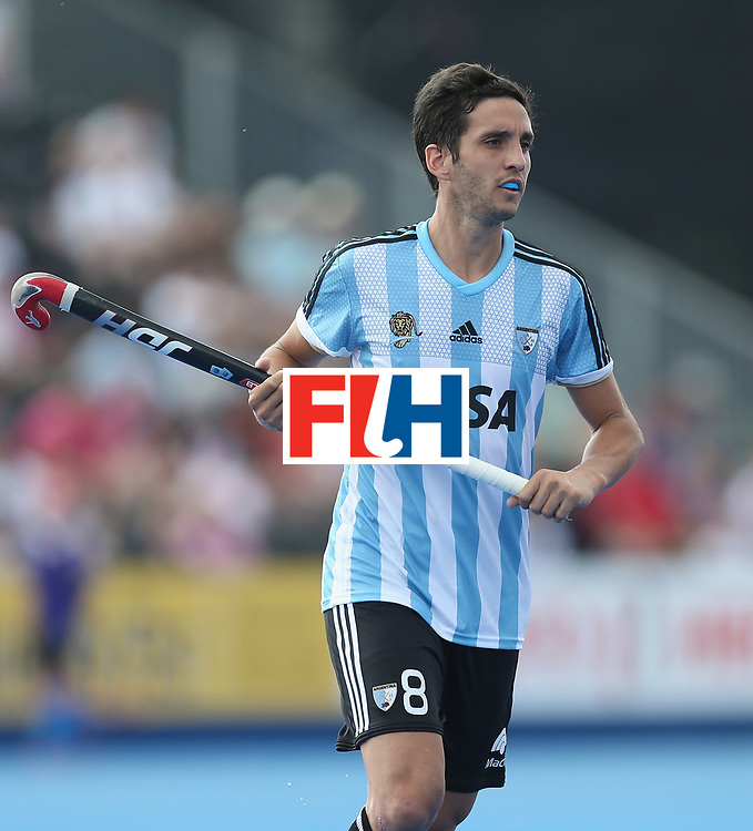 LONDON, ENGLAND - JUNE 18:  Lucas Rey of Argentina during the Hero Hockey World League Semi-Final match between England and Argentina at Lee Valley Hockey and Tennis Centre on June 18, 2017 in London, England.  (Photo by Alex Morton/Getty Images)