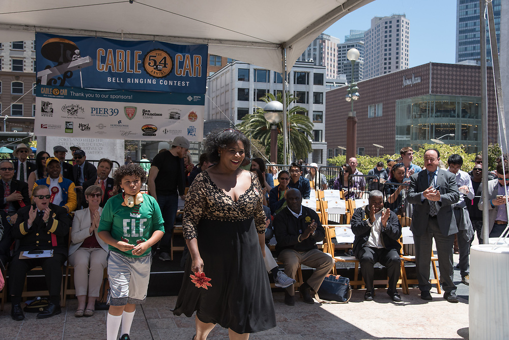 Jazz Singer Amanda King Winning 2nd Place at the 54th Annual Cable Car Bell Ringing Contest | July 13, 2017