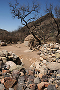 An intertribal sweat lodge site, blessed by a Navajo medicine man Dan Chee, has been used for Native American ceremonies in Montosa Canyon, Santa Rita Mountains, Santa Cruz County, Amado, Arizona, USA. It is located on U.S. Forest Service property.