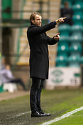 Dundee United manager, Robbie Neilson during the William Hill Scottish Cup fourth round match between Hibernian FC and Dundee United FC at Easter Road Stadium, Edinburgh, Scotland on 28 January 2020.
