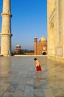 Inde. Uttar Pradesh. Agra. Taj Mahal. Mausolee de Mumtaz Mahal // Mumtaz Mahal mausoleum. Taj Mahal. Agra. India.