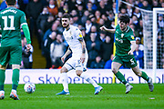 Leeds United midfielder Mateusz Klich (43) passes the ball during the EFL Sky Bet Championship match between Leeds United and Sheffield Wednesday at Elland Road, Leeds, England on 11 January 2020.