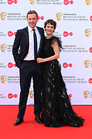 Damian Lewis and Helen McCrory, Virgin Media British Academy (BAFTA) Television Awards, Royal Festival Hall, London, UK, 12 May 2019, Photo by Richard Goldschmidt