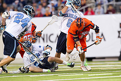 10 April 2010: North Carolina Tar Heels during a 7-5 loss to the Virginia Cavaliers at the New Meadowlands Stadium in the Meadowlands, NJ.