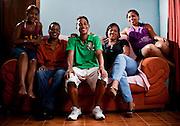 Contagem_MG, Brasil...Projeto De Volta pra Casa, em Contagem, Minas Gerais. O projeto visa tirar criancas de abrigos e leva-las de volta aos seus lares. Na foto, garoto que voltou para a casa gracas ao project...De volta pra casa project, in Contagem, Minas Gerais. The project aims to get children from shelters and take them back to their homes. In the photo, the boy who returned home thanks to the project....Foto: LEO DRUMOND / NITRO