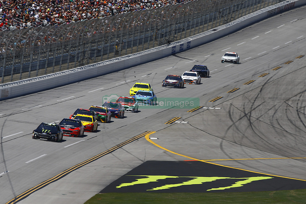 April 29, 2018 - Talladega, Alabama, United States of America - Kurt Busch (41) brings his race car down the front stretch during the GEICO 500 at Talladega Superspeedway in Talladega, Alabama. (Credit Image: © Chris Owens Asp Inc/ASP via ZUMA Wire)